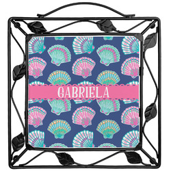 Preppy Sea Shells Trivet (Personalized)
