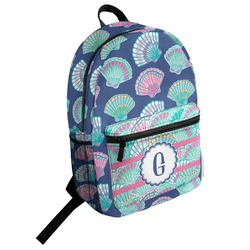 Preppy Sea Shells Student Backpack (Personalized)