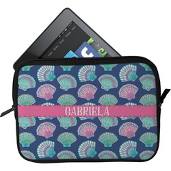 Preppy Sea Shells Tablet Case / Sleeve (Personalized)