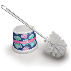 Preppy Sea Shells Toilet Brush (Personalized)