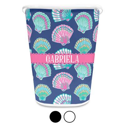 Preppy Sea Shells Waste Basket (Personalized)