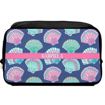 Preppy Sea Shells Toiletry Bag / Dopp Kit (Personalized)