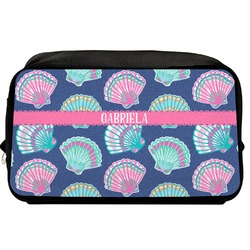 Preppy Sea Shells Toiletry Bag / Dopp Kit (Personalized)