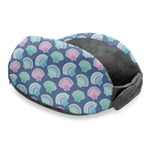 Preppy Sea Shells Travel Neck Pillow
