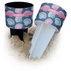 Preppy Sea Shells Beach Spiker Drink Holder (Personalized)