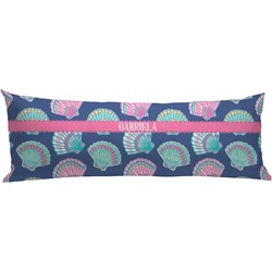 Preppy Sea Shells Body Pillow Case (Personalized)
