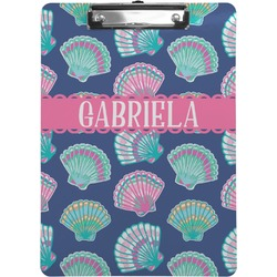 Preppy Sea Shells Clipboard (Personalized)