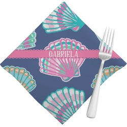 Preppy Sea Shells Napkins (Set of 4) (Personalized)