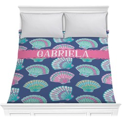 Preppy Sea Shells Comforter (Personalized)
