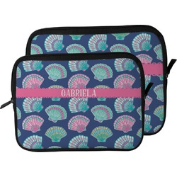 Preppy Sea Shells Laptop Sleeve / Case (Personalized)