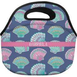 Preppy Sea Shells Lunch Bag (Personalized)