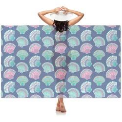 Preppy Sea Shells Sheer Sarong (Personalized)