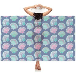 Preppy Sea Shells Sheer Sarong (Personalized)