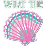 Preppy Sea Shells Graphic Decal - Custom Sizes (Personalized)