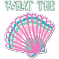 Preppy Sea Shells Graphic Decal - Medium (Personalized)
