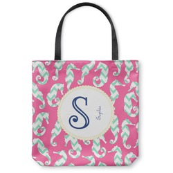 Sea Horses Canvas Tote Bag (Personalized)