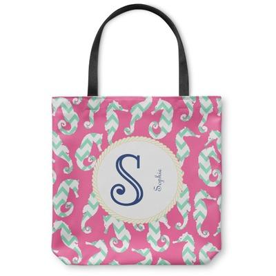 Sea Horses Canvas Tote Bag (Personalized)