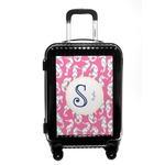 Sea Horses Carry On Hard Shell Suitcase (Personalized)