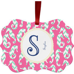 Sea Horses Ornament (Personalized)