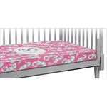 Sea Horses Crib Fitted Sheet (Personalized)