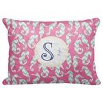 "Sea Horses Decorative Baby Pillowcase - 16""x12"" (Personalized)"
