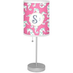 "Sea Horses 7"" Drum Lamp with Shade (Personalized)"