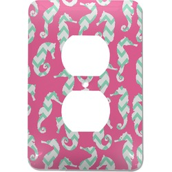 Sea Horses Electric Outlet Plate (Personalized)