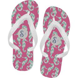 Sea Horses Flip Flops (Personalized)
