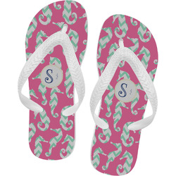 Sea Horses Flip Flops (Personalized)