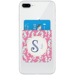 Sea Horses Genuine Leather Adhesive Phone Wallet (Personalized)