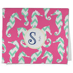 Sea Horses Kitchen Towel - Full Print (Personalized)