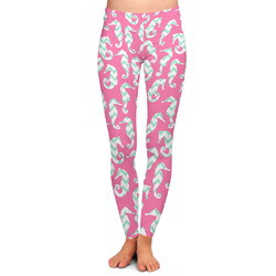 Sea Horses Ladies Leggings (Personalized)