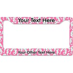 Sea Horses License Plate Frame (Personalized)