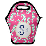 Sea Horses Lunch Bag w/ Name and Initial