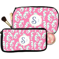 Sea Horses Makeup / Cosmetic Bag (Personalized)