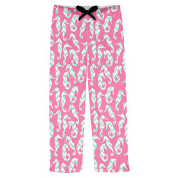 Sea Horses Mens Pajama Pants (Personalized)