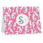Sea Horses Notecards (Personalized)