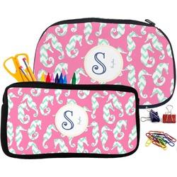 Sea Horses Pencil / School Supplies Bag (Personalized)