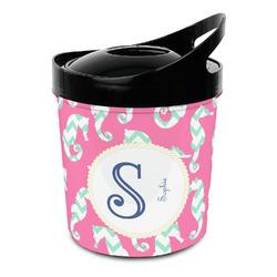 Sea Horses Plastic Ice Bucket (Personalized)