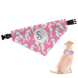 Sea Horses Dog Bandana - Large (Personalized)
