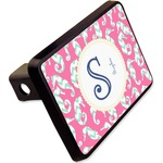 """Sea Horses Rectangular Trailer Hitch Cover - 2"""" (Personalized)"""