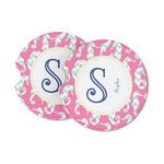 Sea Horses Sandstone Car Coasters (Personalized)