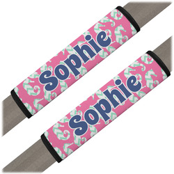 Sea Horses Seat Belt Covers (Set of 2) (Personalized)