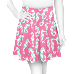 Sea Horses Skater Skirt (Personalized)