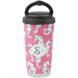 Sea Horses Stainless Steel Coffee Tumbler (Personalized)