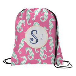 Sea Horses Drawstring Backpack (Personalized)