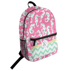 Sea Horses Student Backpack (Personalized)