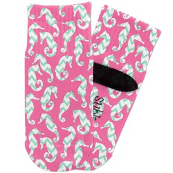 Sea Horses Toddler Ankle Socks (Personalized)