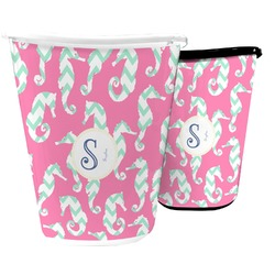 Sea Horses Waste Basket (Personalized)