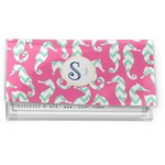 Sea Horses Vinyl Checkbook Cover (Personalized)